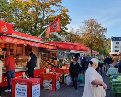 Erlebt eine Renaissance: Der Wochenmarkt